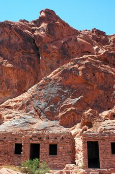 Free Valley Of Fire Royalty Free Stock Images - 292889