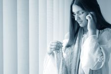 Free Girl On The Phone Royalty Free Stock Photo - 293755