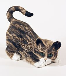 Free Cat Figure Stock Photography - 294082
