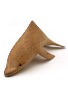 Free Wooden Dolphin Stock Photo - 294420
