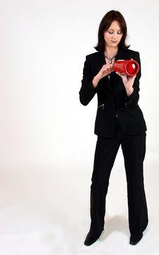 Free Businesswoman Royalty Free Stock Photos - 295238