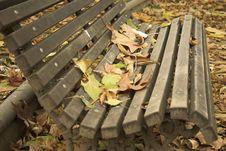 Free Autumn Bench Stock Photos - 296613
