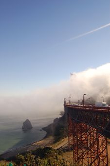 Free Golden Gate Bridge Stock Image - 298001
