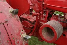 Free Red Tractor Stock Photography - 298232