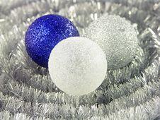 Free Three Glittering Balls Stock Photography - 298962