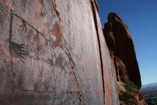 Free Native American Anasazi Petroglyphs Stock Image - 299901