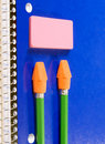 Free Notebook Pencil Eraser Royalty Free Stock Images - 2908089