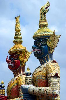 Wat Arun Temple, Bangkok, Thai Stock Photography