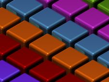 Free Closeup Texture Of Cubes Stock Image - 2900661