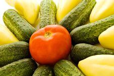 Free Vegetables Arrangements Royalty Free Stock Image - 2901036