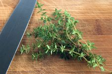 Free Thyme Herbs Stock Photos - 2901503