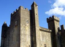 Medieval Castle Beynac Photo Royalty Free Stock Photos