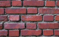 Red Brick. Stock Photos