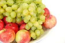 Free Grapes And Apples Stock Photo - 2901820