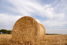 Free Roll Of Straw Stock Photos - 2902273