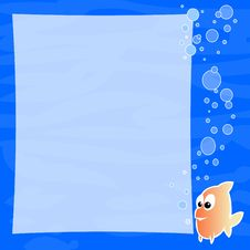 Free Bubbles Background Frame Stock Image - 2903841
