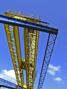 Free Harbour Crane Stock Photo - 2904250