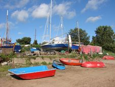 Free Boat Yard Stock Photography - 2904392