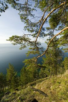 The Baikal Open Spaces! Royalty Free Stock Photography