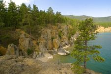 The Baikal Open Spaces! Royalty Free Stock Photo
