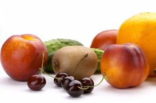 Free Rainbow Of Fruit Stock Photo - 2904500