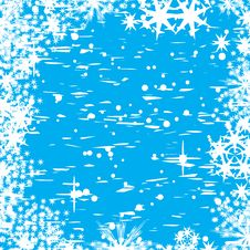 Free Abstract Winter Vector Backgro Stock Photo - 2905600