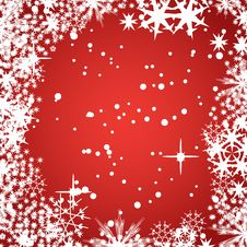 Free Abstract Winter Vector Backgro Royalty Free Stock Images - 2905619