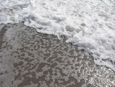 Free Waves Foam Stock Photography - 2906462