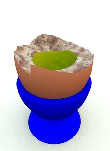 Free Broken Egg 1 Royalty Free Stock Photo - 2907145