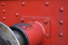 Free Railway Vehicle Buffer Royalty Free Stock Photography - 2907327