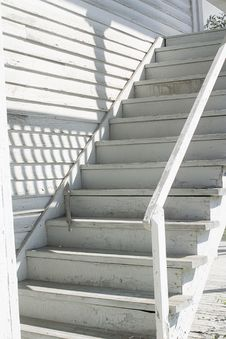 Free White Stairs Royalty Free Stock Images - 2908059