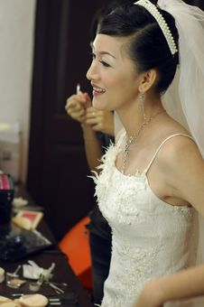 Free Asian Bride Stock Photo - 2909250