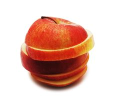 Free Red Sliced Apple Stock Images - 2909624