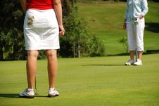 Free Golf Ladies Stock Image - 2909711