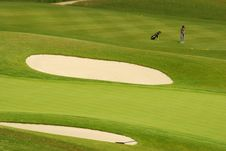 Free Golf - Bunkers Stock Photography - 2909752