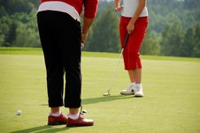Free Golf Ladies Royalty Free Stock Photo - 2909825