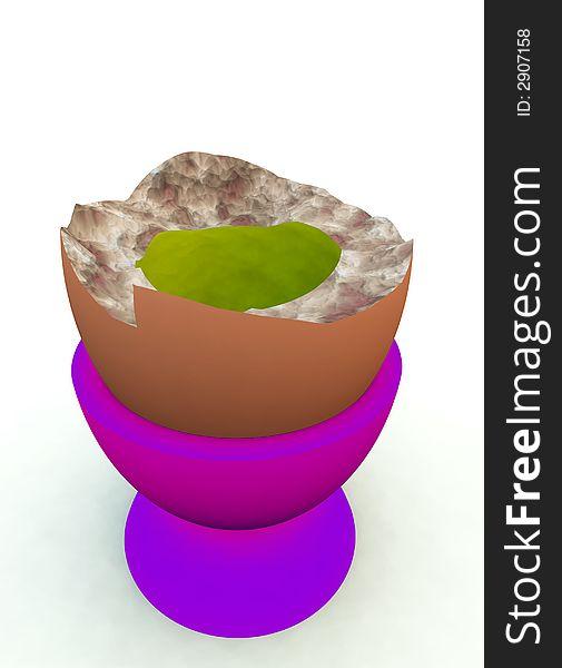 Broken Egg 15
