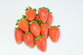 Free Group Of Fresh Strawberry Stock Photography - 29005862