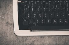 Free Typewriter Stock Photo - 29000790