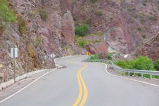 Winding Mountain Road Stock Photos