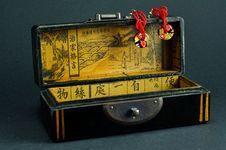 Free Chinese Jewelry Box Royalty Free Stock Photo - 29006555