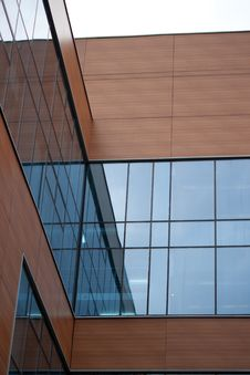 Abstract Modern Building Background Royalty Free Stock Images