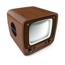 Free Vintage Tv Set Royalty Free Stock Images - 29014239