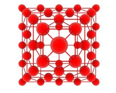 Free 3d Atoms Royalty Free Stock Photos - 29014598