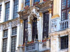 Free Grand Place In Brussels Royalty Free Stock Photo - 29016005