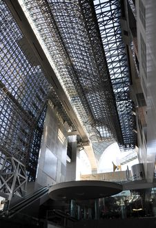 Free Roof Of Kyoto Station Stock Photos - 29019483