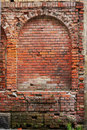 Free Red Brick Wall Of The Medieval Houses Royalty Free Stock Image - 29027276