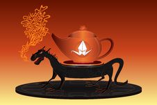Free China Teapot Ancient Service Stock Photo - 29029310