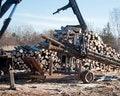 Free Stacking Logs To Cut Royalty Free Stock Photos - 29038718
