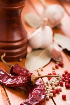 Free Red And White Pepper Royalty Free Stock Photos - 29031428